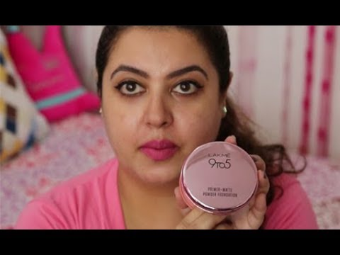 Lakme 9 to 5 Primer+Matte Powder Foundation Review | IndianBeautyReviewer