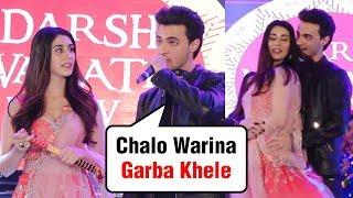 Navratri 2018 | Aayush Sharma And Warina Hussain Play Their First Garba With Fans