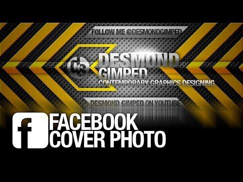 gimp | facebook cover photo TEMPLATE + tutorial