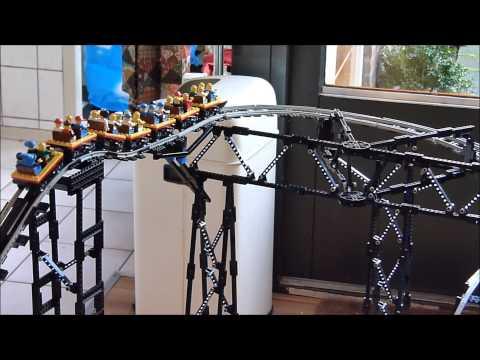 Lego Roller Coaster Crash