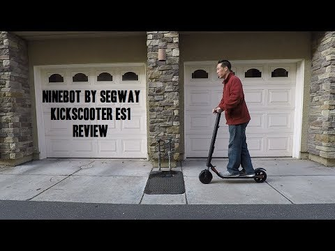 Ninebot by Segway Kickscooter ES1 Review Video
