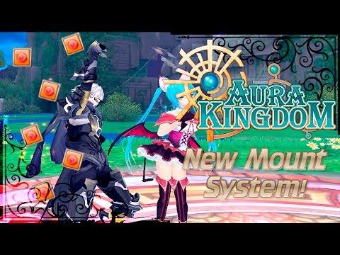 AuraKingdom - 50.000 Loyalty in New Mounting System!