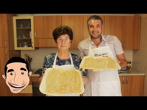 HOW TO MAKE FRESH PASTA FROM SCRATCH WITH NONNA | Pasta Fresca Fatta in Casa
