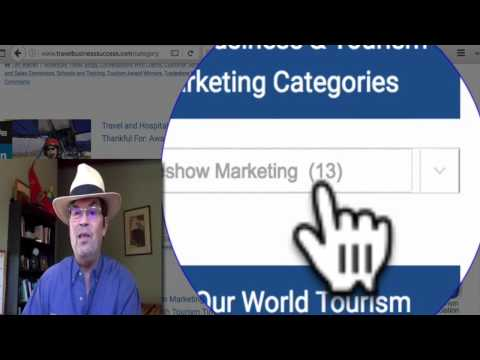Travel Marketing Secrets: Travel Tradeshow Success Tips