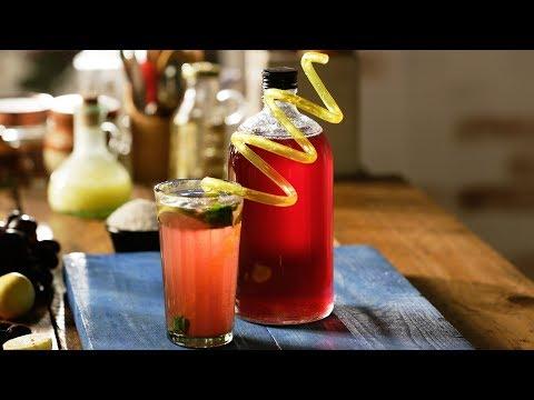 How to make Kala Khatta Syrup - Kala Khatta Sharbat - Cold Drinks & More