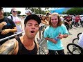 MY FIRST PRO BMX CONTEST WITH STEVIE CHURCHILL