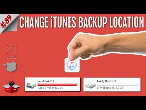 iTunes Backup Location Change - How To Change iTunes Backup Location on Windows PC