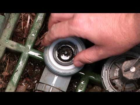 How To Replace A Sprinkler Valve Diaphragm