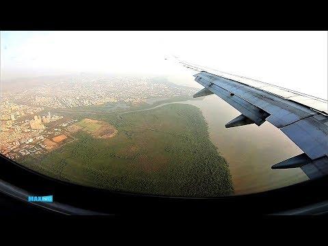 Landing at Mumbai Domestic Airport Terminal 1 | Jet Airways Kolkata(CCU) Mumbai(BOM) Flight