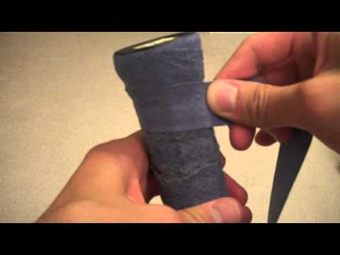 Tutorial: Learn how to rewrap your tennis grip