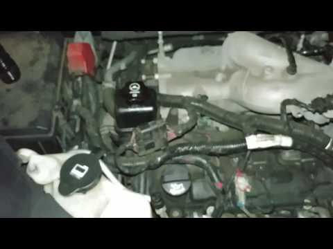 2008 Saturn Outlook power steering fluid leak identified