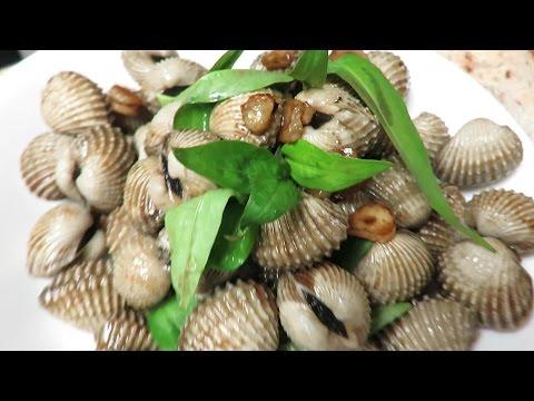 Stir fried Blood cockle clams