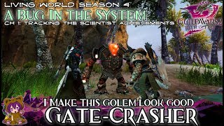★ Guild Wars 2 ★ - Gate-crasher & I Make This Golem Look Good (tracking The Scientist Achievement)