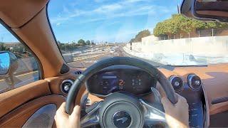 2020 McLaren GT Supercar POV Drive (3D Audio)