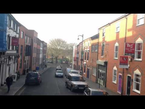 Timelapse - a journey in 101 bus Birmingham