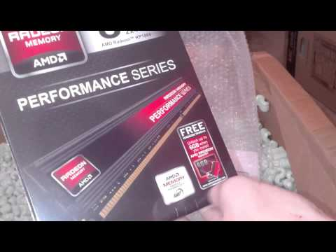 UNBOXING - AMD Test Drive New A10 Computer Kit