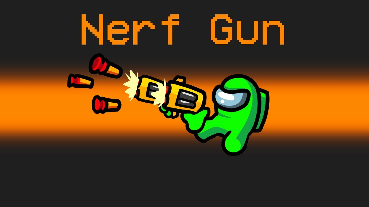 *NEW* NERF IMPOSTER Mod in Among Us