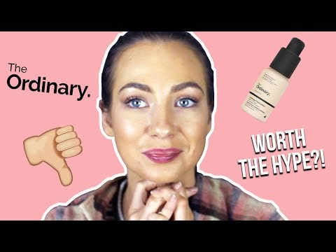 TESTING THE ORDINARY $13 FOUNDATION | WORTH THE HYPE?