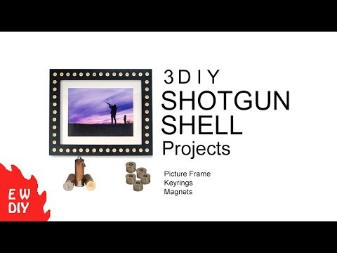 How to make 3 DIY SHOTGUN SHELL projects