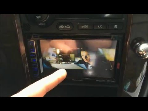 FIX: Car DVD won't display video on main screen? Error Bypass with Button
