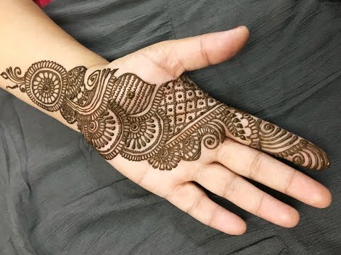 Learn Stylish Arabic Henna Mehndi In 10 Minutes How To Apply