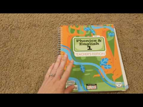 Homeschool Curriculum by Subject: 1st Grade Phonics and English