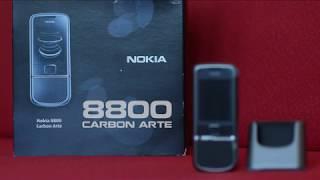 Nokia 8800 carbon arte unboxing