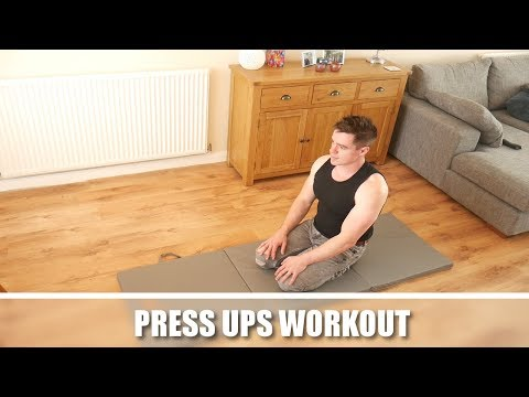 Press Ups Workout - A Simple Home Routine for Pecs and Flatter Abs