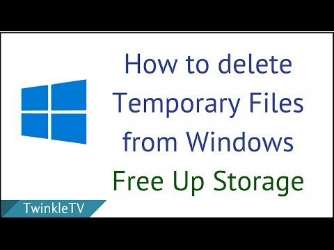 How to Delete Temporary Files from PC | Clean C Drive | Free Up Space