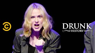 """""""Are You Afraid of the Drunk?"""" Live Read (feat. Seth Rogen and Evan Rachel Wood) –  Drunk History"""