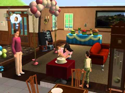 The Sims 2 - Birthday party