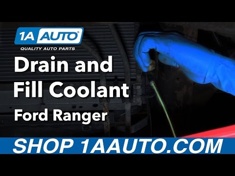 How to Drain Refill and Bleed Engine Coolant System 01 Ford Ranger Buy Quality Parts from 1AAuto.com