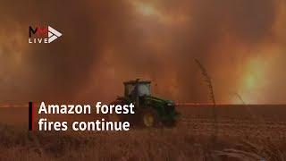 Dramatic video shows fires decimating Brazil'sAmazon