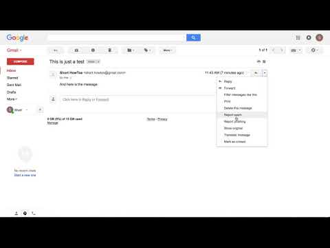 How To get the full email headers in gmail