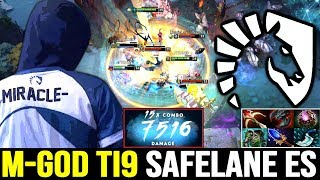 Download MIRACLE 7500 DMG Combo!! M-GOD Carry Earthshaker - Team Liquid vs KG TI9 Dota 2 Video