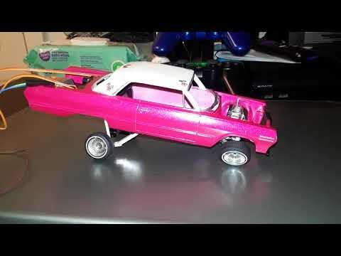 63 impala lowrider model car hopper: part 4- Hawaii