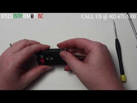 How To Replace Mazda CX 9 Key Fob Battery 2007 2008 2009 2010