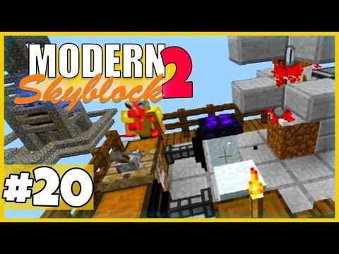 Diese Schnee-Farm... - Minecraft Modern Skyblock 2 (Expert Mode) - #20