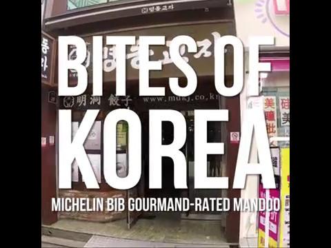 Bites of Korea: Michelin-rated mandoo at Myeongdong Kyoja
