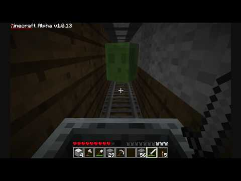 Slime Powered Minecarts! (Minecraft!)