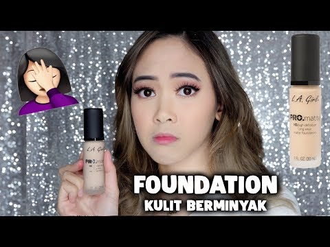 Foundation for Oily Skin? L.A. Girl Pro Matte / FIRST IMPRESSION & WEAR TEST - Almiranti Fira