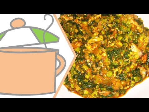 Nigerian Okra Soup with Ogbono | All Nigerian Recipes