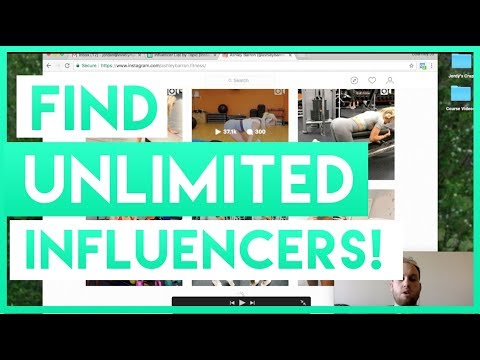 How to Find UNLIMITED Influencers For FREE! [Influencer Marketing Strategy] Pt  1