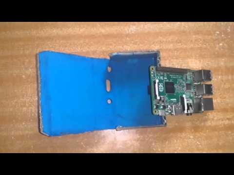 How to make a Cardboard case for Raspberry pi 2/B+