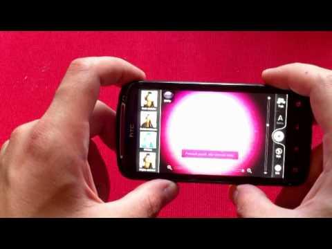 Funkcja dodawania efektów przy wykonywaniu zdjęć