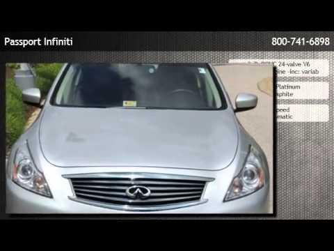 2012 Infiniti G37 Sedan AWD / Nav / Bose Sedan  - Alexandria