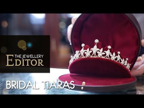 Wedding tiaras: expert advice on how to choose the perfect headpiece.
