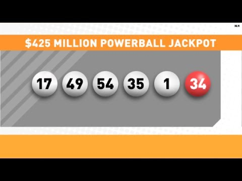 $425 million Powerball ticket sold in California