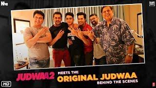 Judwaa 2 meets original Judwaa - BTS   Salman Khan  Varun Dhawan   Sajid Nadiadwala   David Dhawan