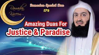 Amazing Duas For Justice & Paradise | Ep #8 SFR | Ramadan 2018